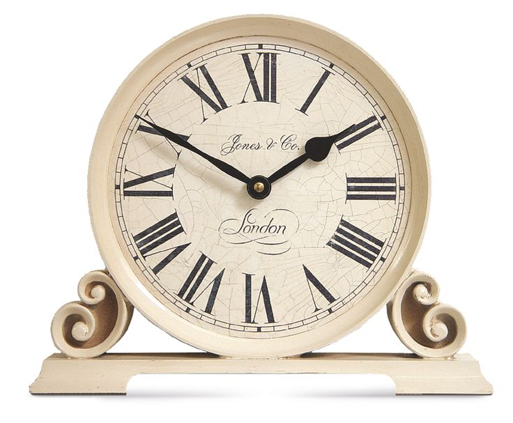 Jones Worcester Traditional Cream Mantel Clock | Departments | DIY at B&Q