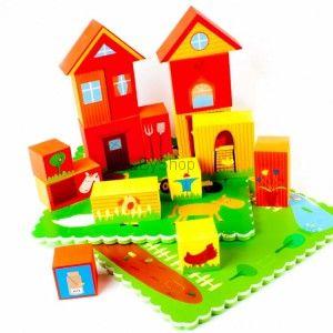Meadow Kids Puzzle do kąpieli 3D Farma