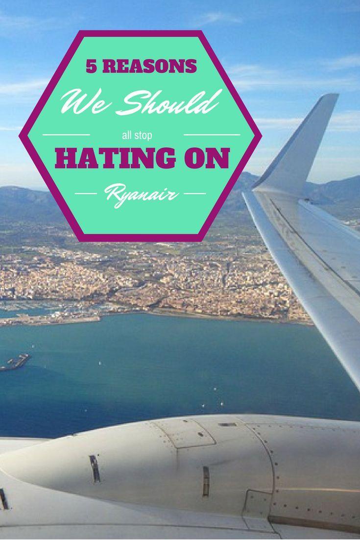 5 Reasons We Should All Stop Hating on Ryanair