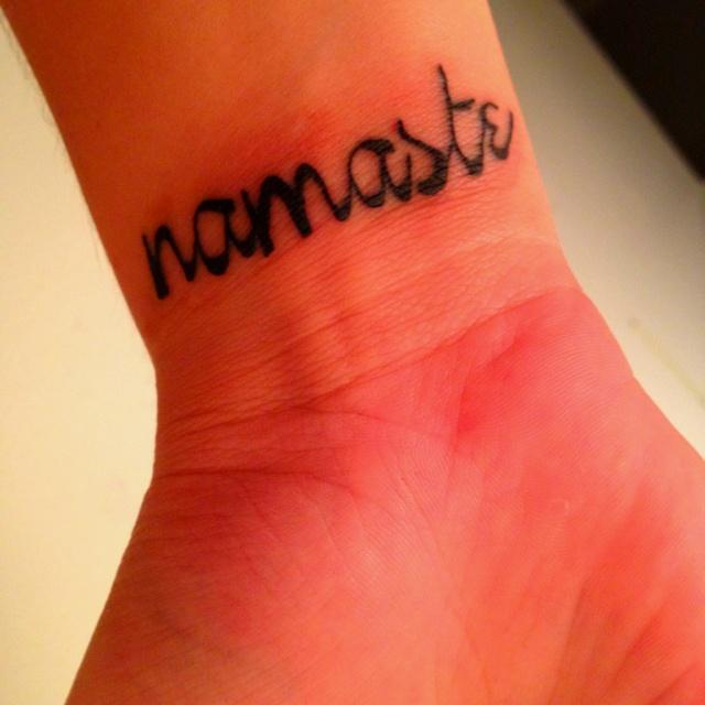 Namaste :) | Tattoo Dreams | Pinterest