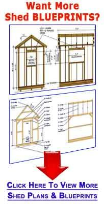 Shed Blueprints 10×12 – Plans For Building Your Lean To Garden Shed