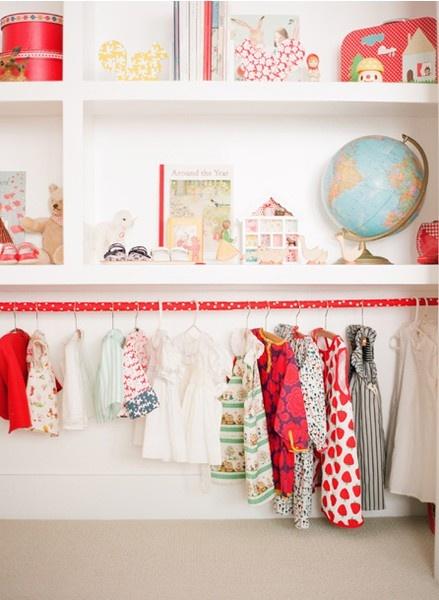 in the closet