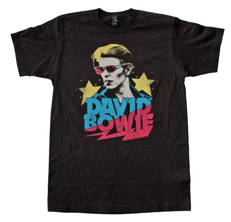 David Bowie Starman Soft T-Shirt -ONLINE ONLY-#1lt2f #1lt2fskateshop #fashion #skateboarding #skateboard #longboarding #mensfashion #womensfashion #fashion #apparel #skatedecks #toys #games #dccomics #marvel #music