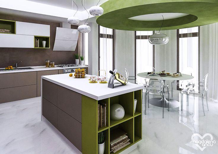 Kitchen design by Magdalena Ancu