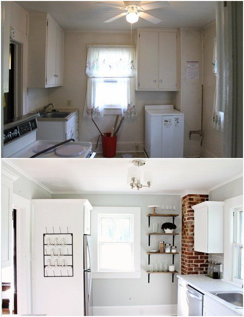 House Flipping Avenue House - Kitchen Before and Afters Kitchen - Kitchen Renovation On A Budget