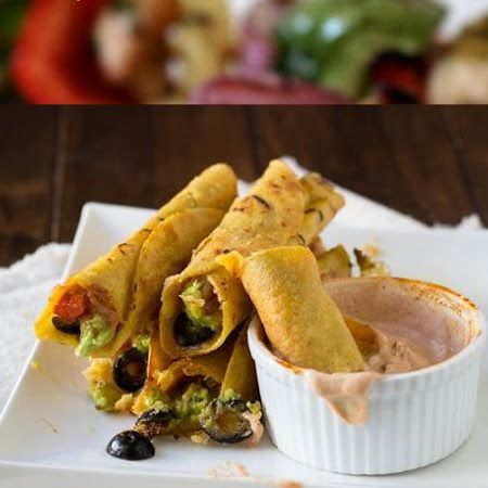 7 Layer Taquitos