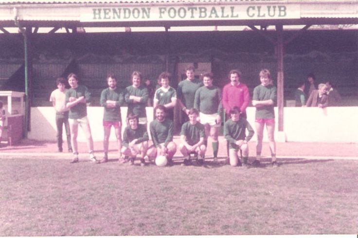 Hendon Supporters Team. Year unknown.