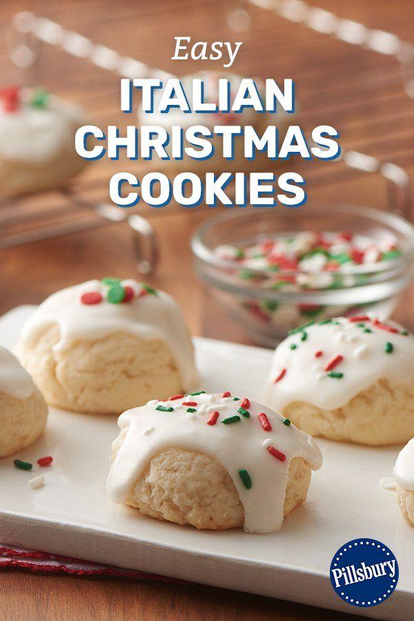 Easy Italian Christmas Cookies Recipe In 2019 Cookie Recipes