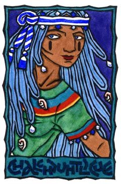 Chalchiuhtlicue. And when all had settled, Her spirit swept over the water...