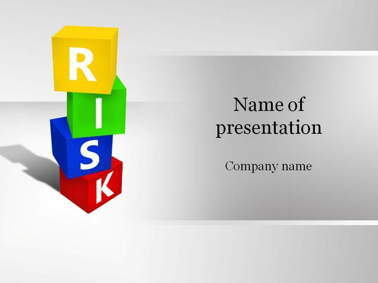 Risk Boxes Powerpoint Template  Templates    Template