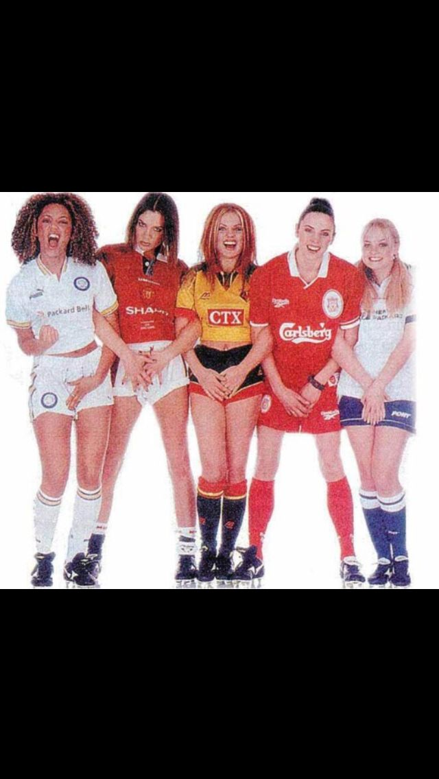 According to a channel 5 TV show 20 moments that rocked the 90s The writer for this magazine had shown pictures of footballers to the spice girls and Victoria Beckham asked how do I meet David Beckham!