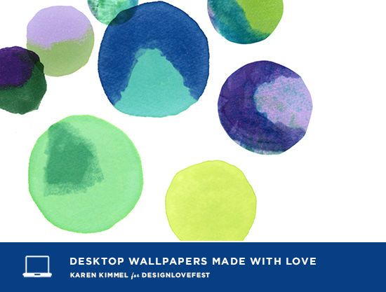 Dress Your Tech from Design Love Fest {I love the watercolor dots!}
