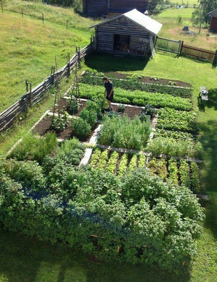 Garden footprint