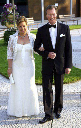 Мария-Тереза и Анри на их 25-ую годовщину свадьбы в 2006 году.