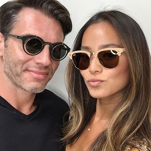 4c575c7e18 ... new arrivals regram jamiejchung wearing ray bans new wood clubmaster  sunglasses available now at selectspecs in