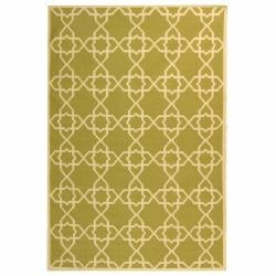 @Overstock - This geometrically-patterned wool rug is handmade in the style of a Moroccan dhurrie. Its olive background and ivory foreground combine for a clear and attractive pattern that makes this area rug stand out in your living room.   http://www.overstock.com/Home-Garden/Moroccan-Olive-Ivory-Dhurrie-Wool-Rug-5-x-8/6372315/product.html?CID=214117 $173.99