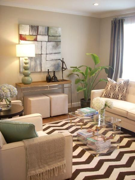 Brown And Beige Carpet And Rugs | Brown And Beige Chic Modern Living Room  Combination By Part 92
