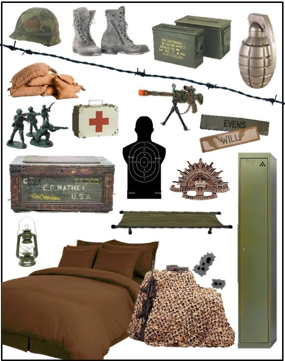 Army Bedroom
