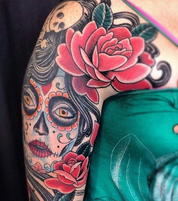 9 best beautiful koi fish tattoo designs meanings images on pinterest koi fish tattoo fish - Tatouage tete de mort mexicaine ...