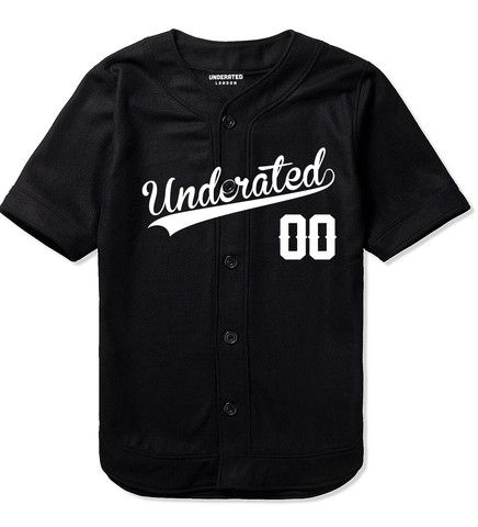 Black Baseball Jersey. I'd so wear this if I had it!!!