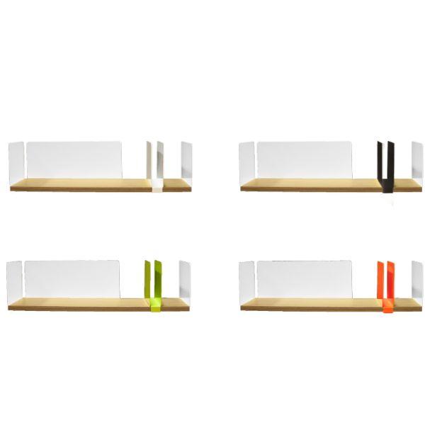 Moleskine by Driade, Desk Shelf, Philippe Nigro, 2016