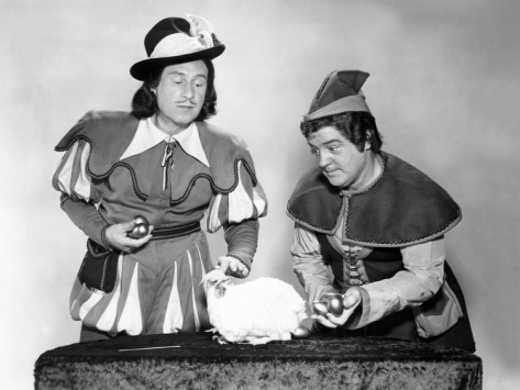 Jack and the Beanstalk, Bud Abbott, Lou Costello [Abbott & Costello], 1952 Premium Poster