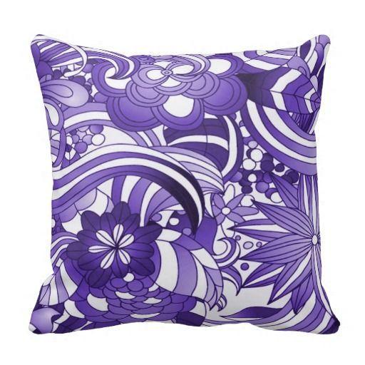 Purple Decorative Bedroom Pillows : 293 best Purple Bedroom Ideas images on Pinterest Purple cushions, Purple pillows and Purple ...