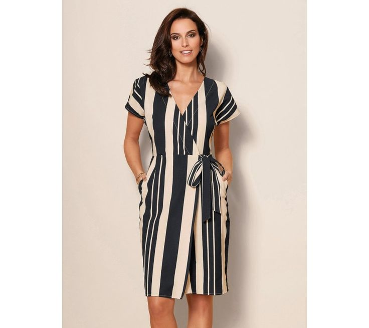 Pruhované šaty | modino.cz #ModinoCZ #modino_cz #modino_style #style #fashion #dress