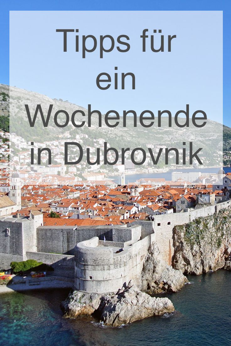 Meine Tipps für ein Wochenende in Dubrovnik findest du hier: https://www.christineunterwegs.com/reisen/kroatien-reisen/reisen-dubrovnik/