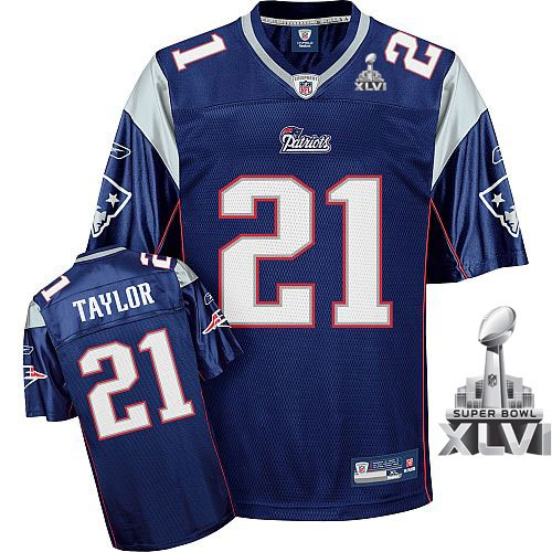 reebok new england patriots fred taylor 21 blue authentic jerseys sale