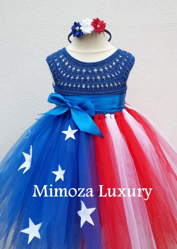 4th of july outfit 4th of July dress Kids 4th of by MimozaLuxury