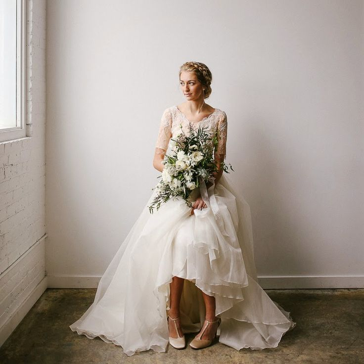 Lovely bridal portrait. I adore the simplicity | by Mandi Nelson Photography