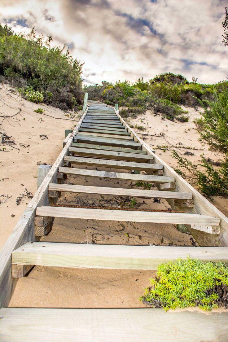Beach stairway Plettenberg bay