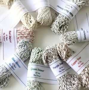 The Twinery metallic baker's twine, $18 for 135-yard sample pack
