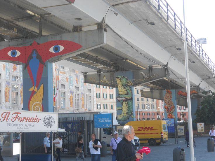 Porto Antico Genova - Sopraelevata, Genova- Italy