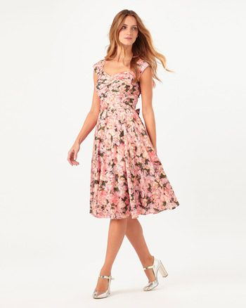 cd942a8ccf48 Phase Eight Rosalia Floral Dress Multi · Blumendruck KleiderBedruckte ...
