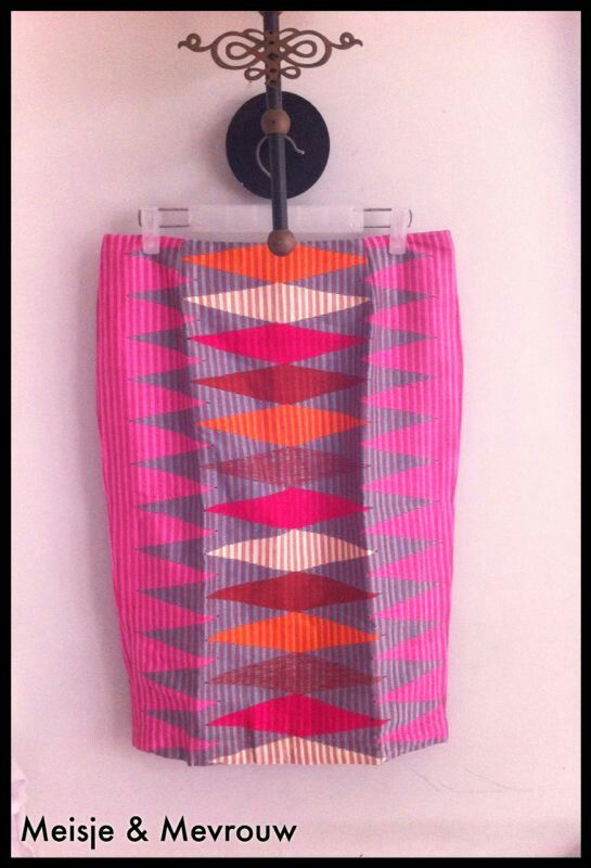 Rangrang skirt in candy colours