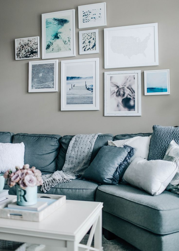 Decoration Gray Walls Living Room: 25+ Best Ideas About Blue Grey Rooms On Pinterest