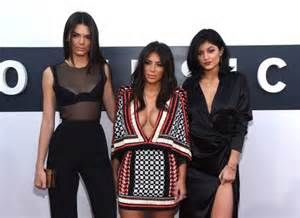 kendall jenner with kim kardashian and kylie jenner