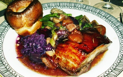 Pork Belly Roast with Yorkshire Puds