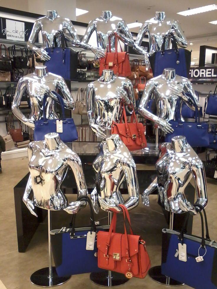 Debenhams//Handbag Dept//Visual Merchandising