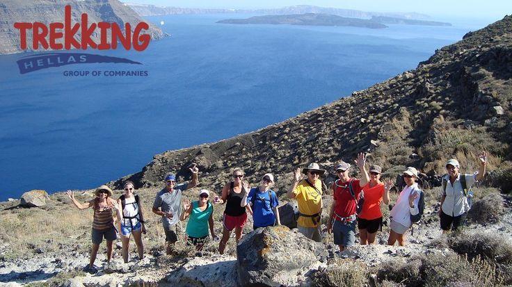 Trekking Santorini