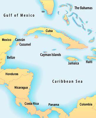 Western Caribbean cruise ports. We stopped at Cozumel, Grand Cayman, and Jamaica.