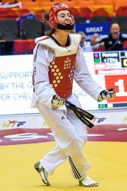 Bianca Walkden from Team GB.