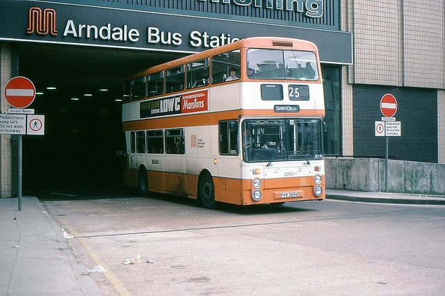 Manchester Arndale: Canon Street  Bus Station by georgeupstairs, via Flickr