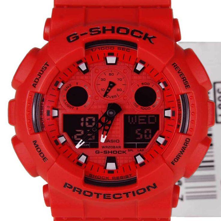 A-Watches.com - Casio G-Shock Digital Sports WAtch GA-100C-4ADR, S$157.09 (http://www.a-watches.com/casio-g-shock-ga-100c-4adr/)