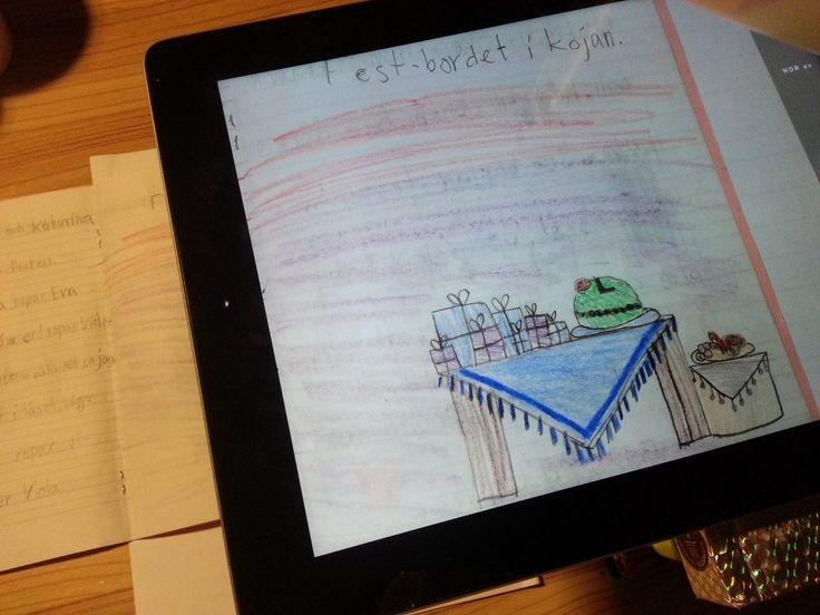 Använda iPaden som dokumentkamera