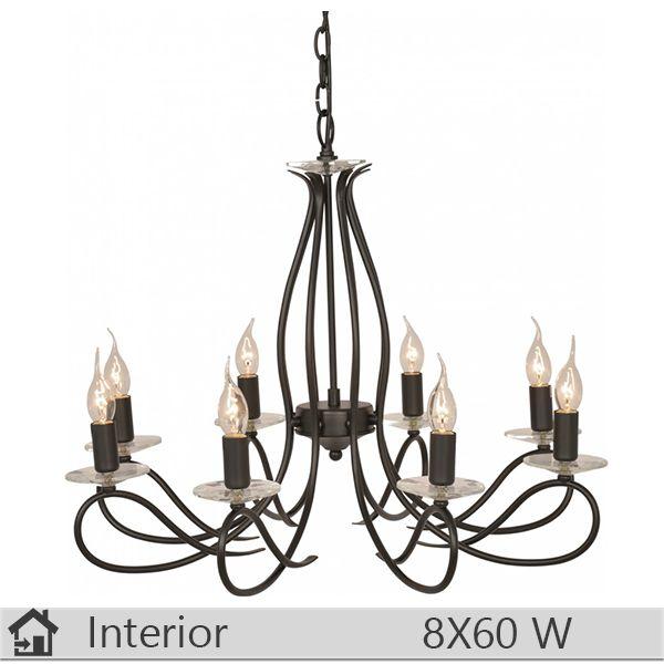 Candelabru iluminat decorativ interior Klausen, gama Galatea, model nr8
