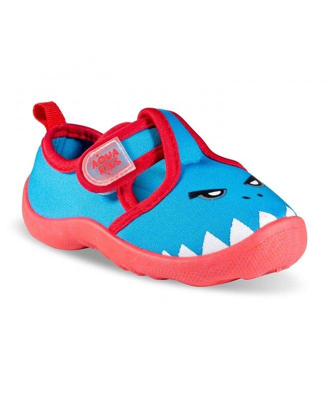 Water Aqua Shoes for Boys & Girls - Kids Waterproof Sandals - Blue Shark -  CJ18NR87H7E   Aqua shoes, Blue sandals, Kid shoes
