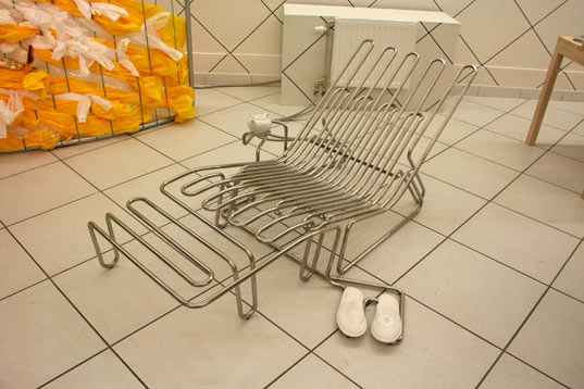 "Cosy Chair by SMAQ - ""inhabitable radiator space"""